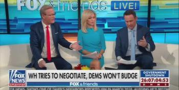Fox And Friends Whines About Democratic Opposition To Trump