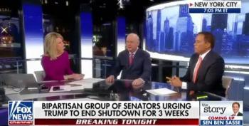 Martha MacCallum Loses It Over Border Wall With Juan Williams
