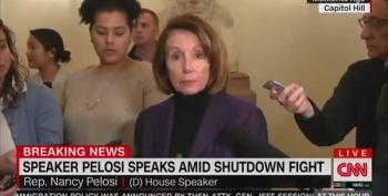 Speaker Pelosi Accuses Trump Of Endangering Congressional Delegation