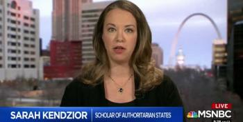 Kendzior On AM JOY: 'This Is A Transnational Crime Syndicate Masquerading As A Government'