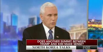 Mike Pence Can't Explain Why He Said North Korea Hasn't Taken 'Concrete Steps' To Denuclearize
