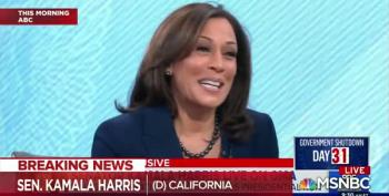Kamala Harris Makes It Official: She's Running For President