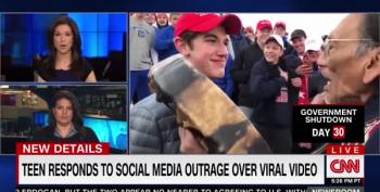 MAGA Hat Teen Claims Native Elder 'Was In My Face'
