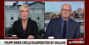 What The Hell Is Rudy Giuliani Lying About Now -- And Why?
