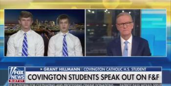 Covington Catholic School Student Says Wearing Blackface Was Showing 'School Spirit'