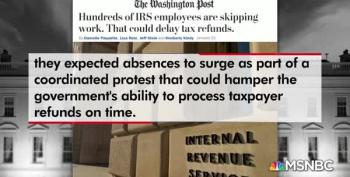 11th Hour: IRS Delays Make Trump's Shutdown 'Real'