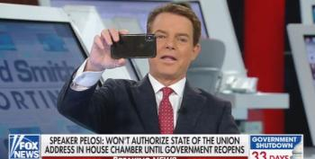 Shepard Smith Mocks Trump: Maybe He'll Stream SOTU On A Cell Phone