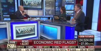 Fox Business Host Admits Fox News Polls Show Bad News For Trump On U.S. Economy