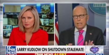 Larry Kudlow Calls Impact Of Trump's Govt Shutdown 'A Glitch'