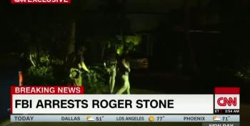 WATCH:  CNN Films Roger Stone's Arrest