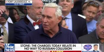 Roger Stone Greeted With Shouts Of 'Lock Him Up!' After Release On Bail