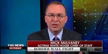Mick Mulvaney: Trump Veto May Have 'The Effect Of Shutting The Government Down'
