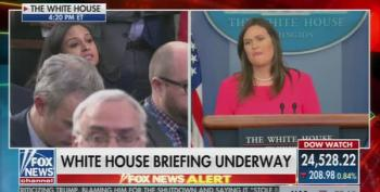 Sarah Huckabee Sanders Blames Media For Wikileaks Dumps