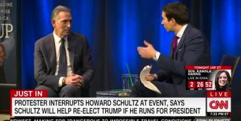 Howard Schultz Confronted By Angry Heckler At NYC Book Event