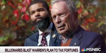 Billionaires Whine About Elizabeth Warren's Proposed Billionaire Tax