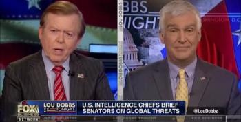 Lou Dobbs Cries, Trump Goes Off On Intelligence Services