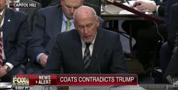 DNI Dan Coats Contradicts Much Of Trump's Threat Assessments