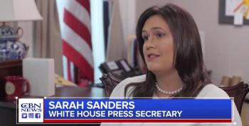 Sarah Sanders: 'God Wanted Donald Trump To Become President'