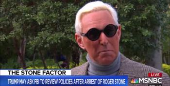 Faux Outrage By Trump And Graham: How Dare FBI Knock On Roger Stone's Door