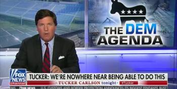 Tucker Carlson Goes Full Stupid On Wind Power