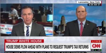GOP Rep Begs Dems: Leave Trump's Tax Returns Alone!