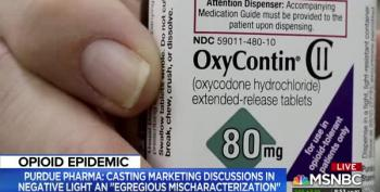 OxyContin Maker Under Fire For Marketing Addiction