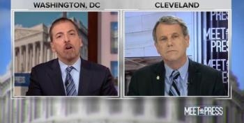 Chuck Todd Asks Sen. Sherrod Brown If He 'Believes In His Heart' Trump Is A Racist