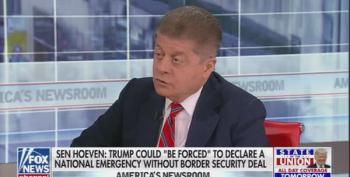 Judge Napolitano: Courts Will Stop Trump's 'National Emergency' Wall Payments