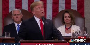 Speaker Nancy Pelosi Calms The Chamber After Trump Attacks Migrant Caravans
