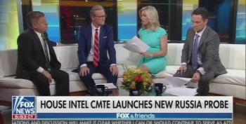 Fox And Friends Jumps The Shark: Trump Should Investigate Adam Schiff