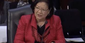 Senator Hirono Scolds Judiciary Committee For Extremist Nominees