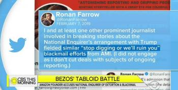 Ronan Farrow Claims National Enquirer Threatened Him, Too