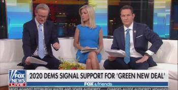 Fox And Friends Melts Down Over Green New Deal Proposals