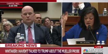 Rep. Pramila Jayapal Lays Into Whitaker Over Family Separation Policy