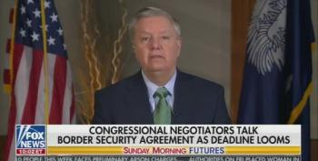 Lindsey Graham Spreads Clownish Lies About Immigration Negotiations