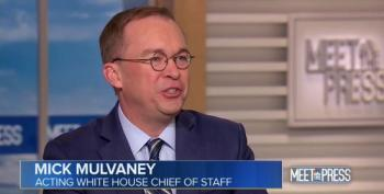 Mick Mulvaney: Trump Prepping For The Next Meeting During 'Executive Time'