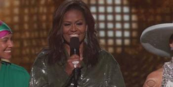 Michelle Obama Rocks The Grammys