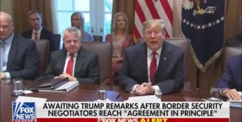 Trump Says He's 'Not Happy' But Has 'To Study' Border Deal Struck By Congress