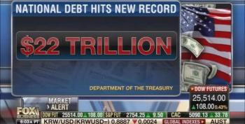 Fox Business Network: Don't Raise Taxes On Rich To Help Payoff 22 Trillion Debt