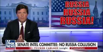 Tucker Carlson Says Trump 'Exonerated' By Senate Report (He Is Not)