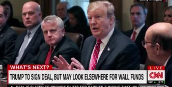 Trump Attacks The 'Radical Left' Over Border Discussions