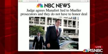 Manafort Lied To Judge About Kilimnik, Gets Caught, Waits For Trump Pardon