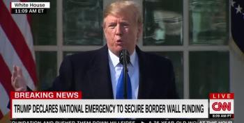 Trump Admits Calling A National Emergency To Fund His Wall Was About The 2020 Election