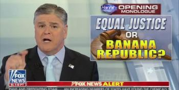Acting President Hannity Orders Barr To Investigate Trump's Deep State Enemies