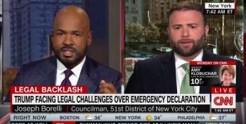 CNN's Victor Blackwell Takes Apart Trump Booster's Lies On Border Wall