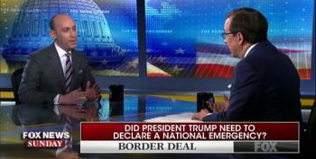 Fox's Chris Wallace Presses Stephen Miller Over Trump's Need To Declare Emergency At The Border
