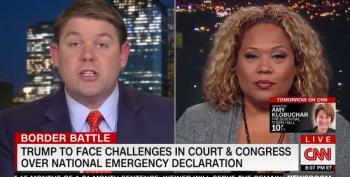 Trump Supporter Ben Ferguson Tries To Blame Democrats For Trump Declaring National Emergency