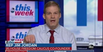 Jim Jordan Lets Slip That Trump's 'Emergency' Is His Stupid Campaign Promise
