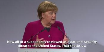 Angela Merkel Blasts U.S. Policy That Calls BMW Cars A National Security Risk