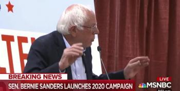 Sen. Bernie Sanders Announces His 2020 Presidential Campaign